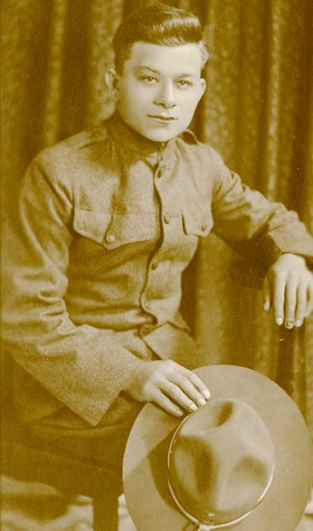 American Legion_P75_16_1_Private Richard Hintz, US Army, 1918